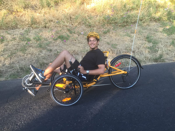 recumbent test ride